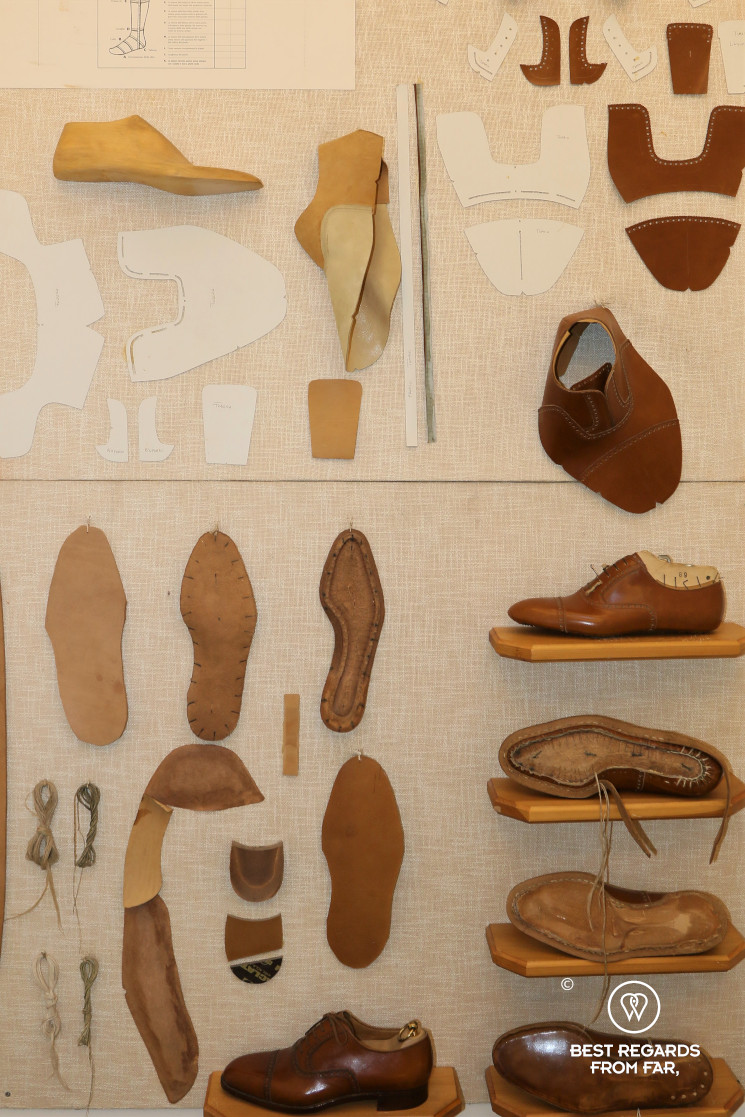 The crafts of Florence: making a leather shoe from scratch.