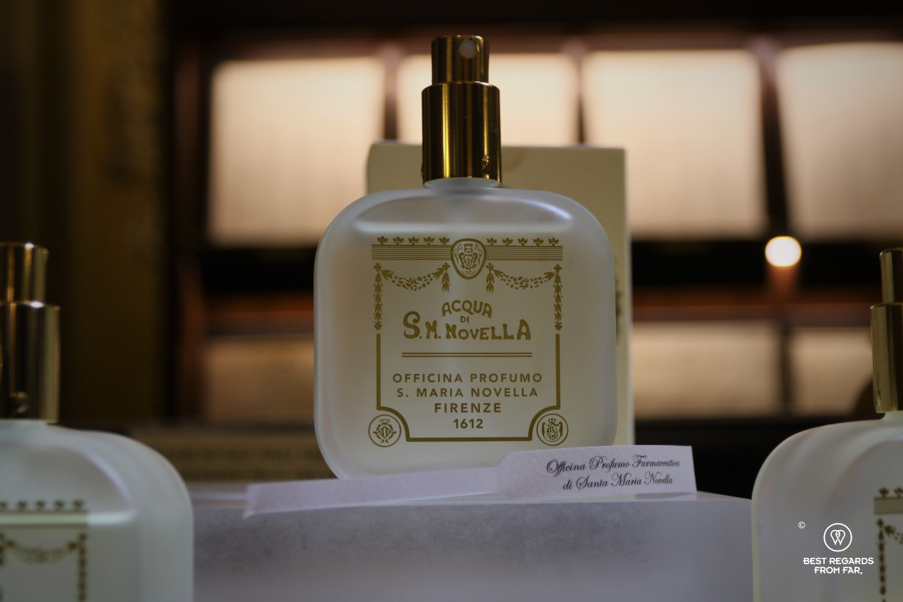 The crafts of Florence: the queen's perfume at the Officina Profumo Farmaceutica di Santa Maria Novella.