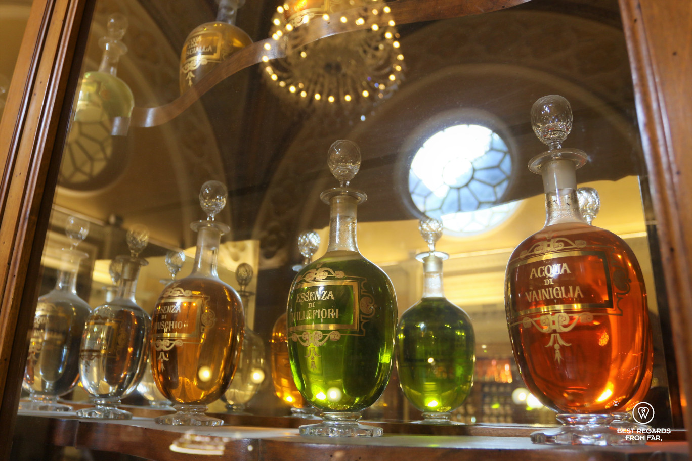 The crafts of Florence: perfumes at the Officina Profumo Farmaceutica di Santa Maria Novella.