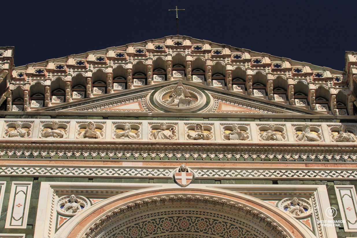 Façade of the Duomo, Florence, Italy