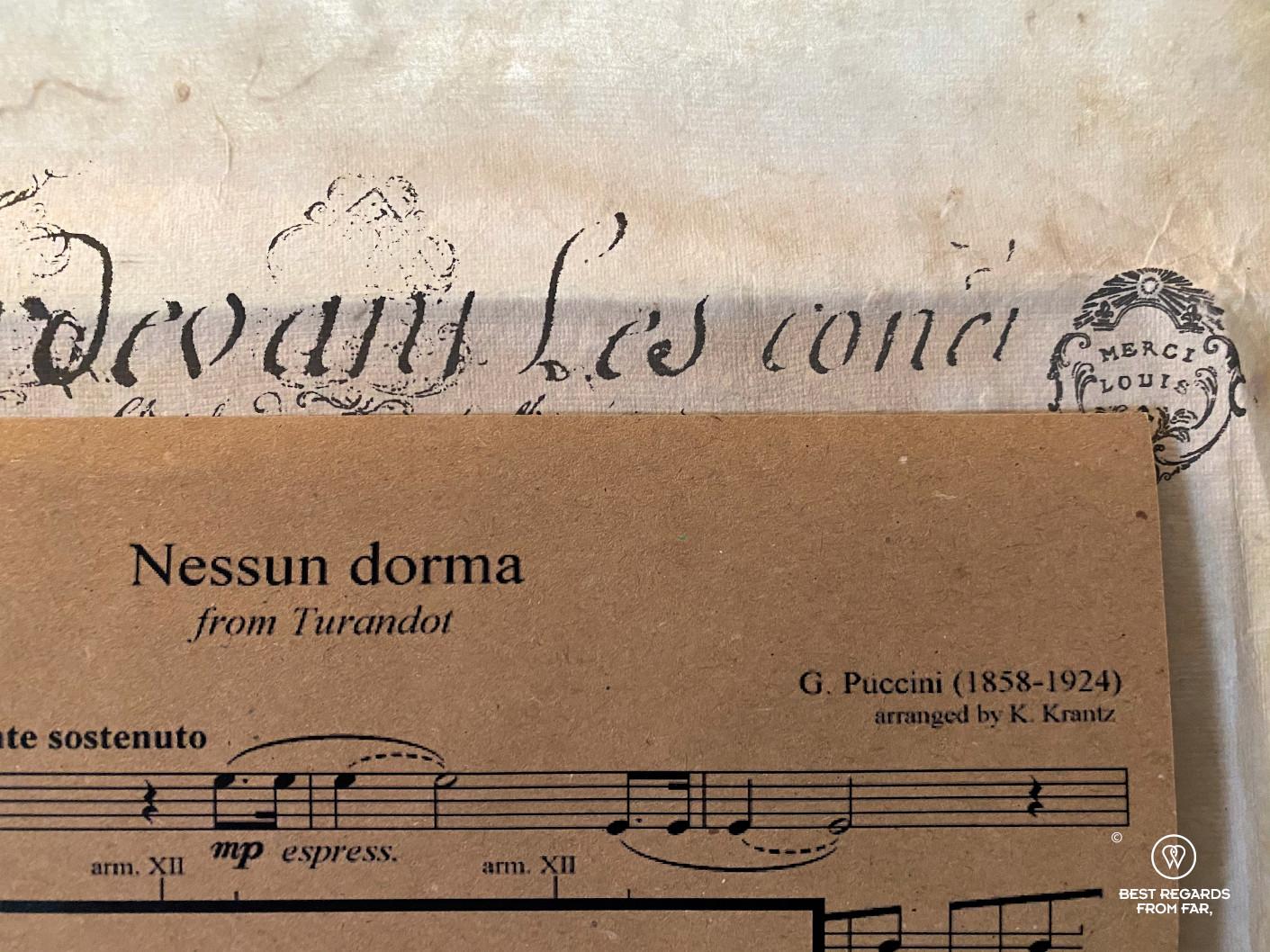Nessun dorma by Puccini