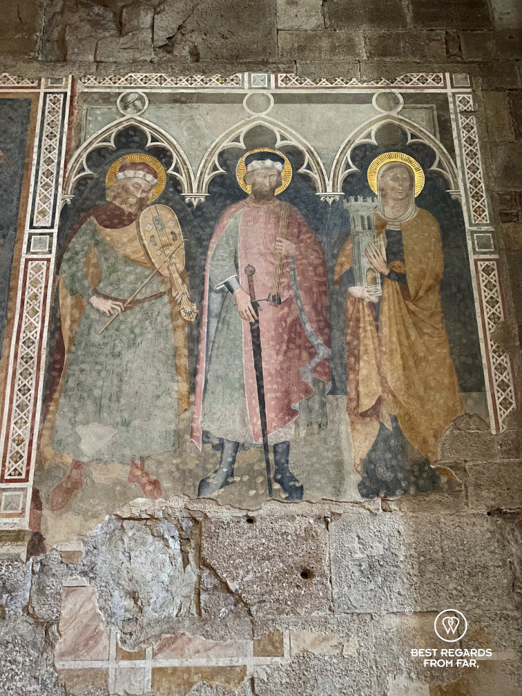 Fresco in the Santi Giovanni e reparata church, Lucca