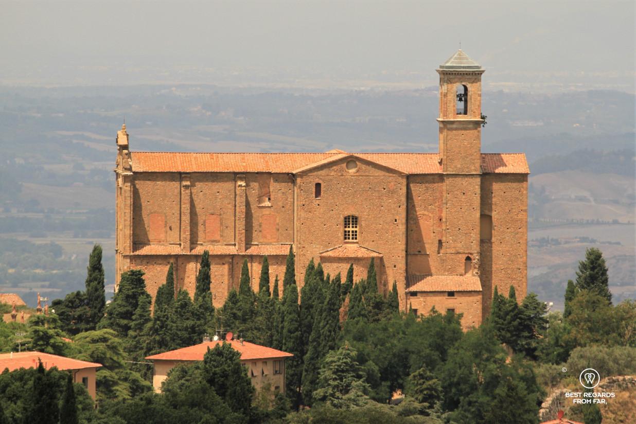 San Giusto Church in Volterra, Tuscany, Italy