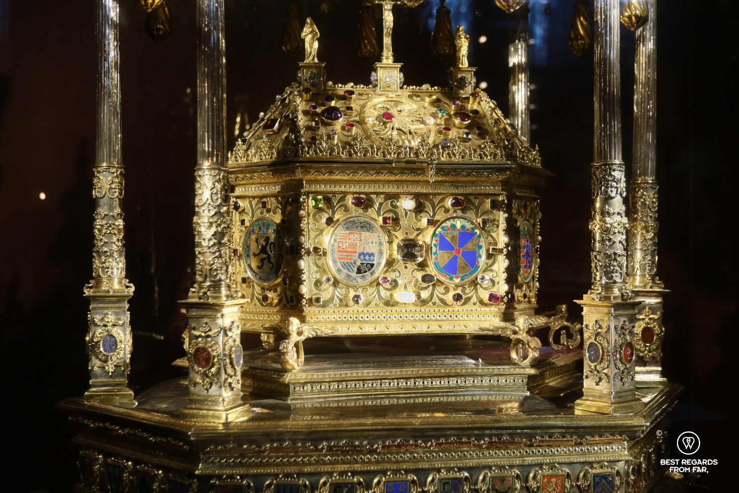 Basilica of the Holy Blood, Bruges: Great reliquary of the Holy Blood