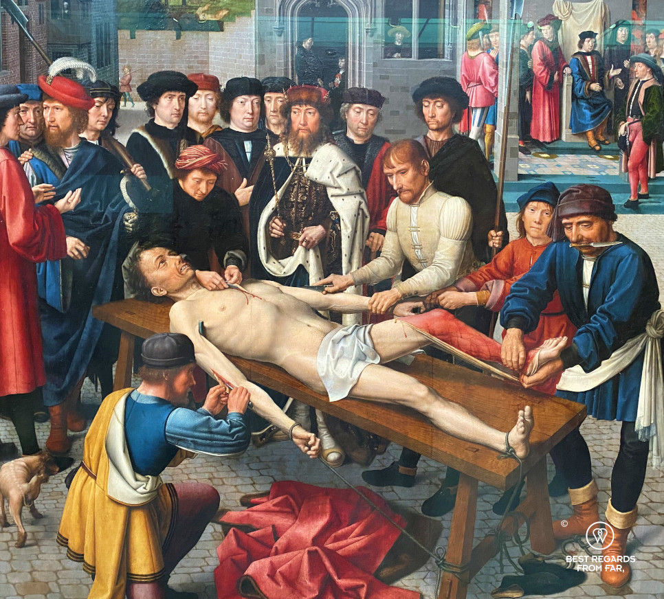 The Groeninge Museum: Judgement of Cambyses by Gerard David, Bruges