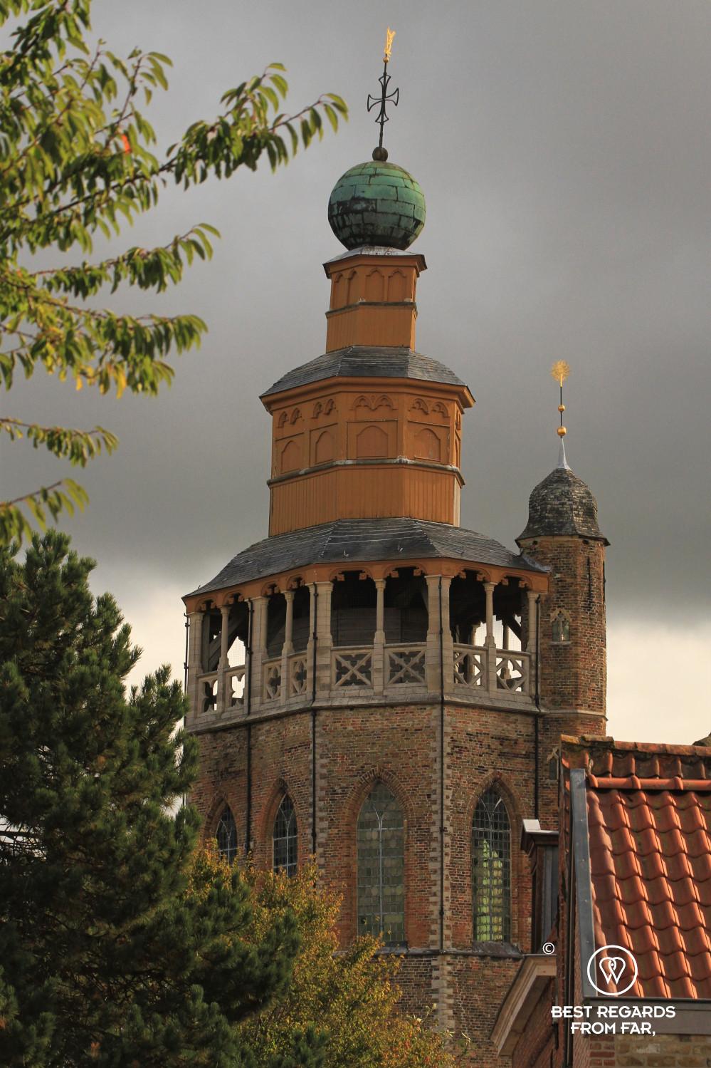 The oriental architecture of the Jerusalem Chapel, Bruges, Belgium.
