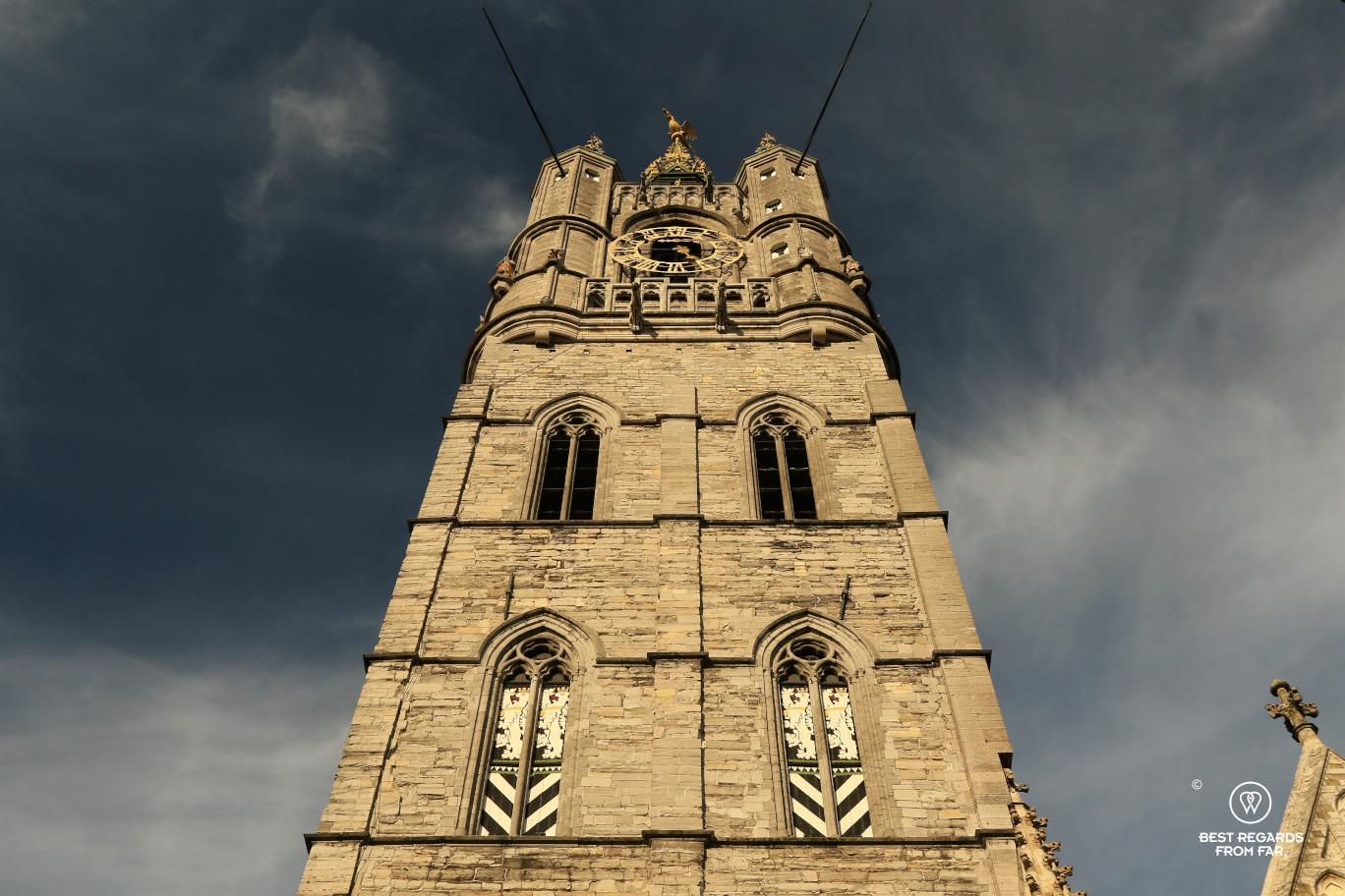 The Ghent Belfry, Belgium