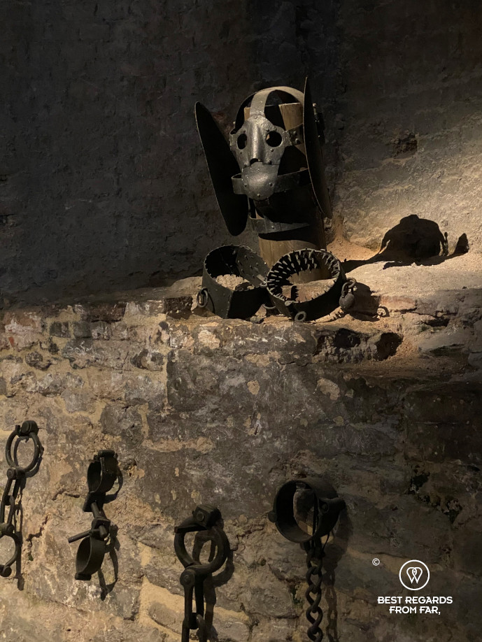 Torture chamber of the Castle of the Counts, Ghent, Belgium