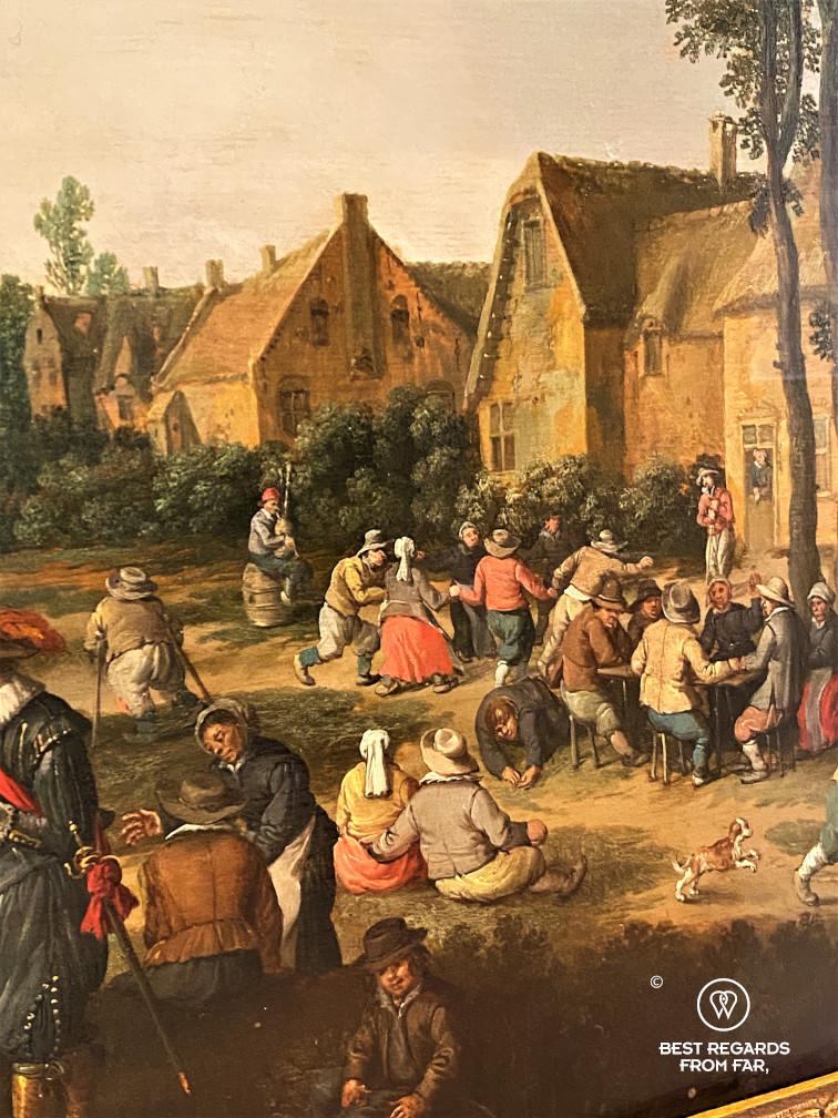 The Village Fair by Cornelisz Droochsloot, Museum of Fine Arts, Ghent, Belgium