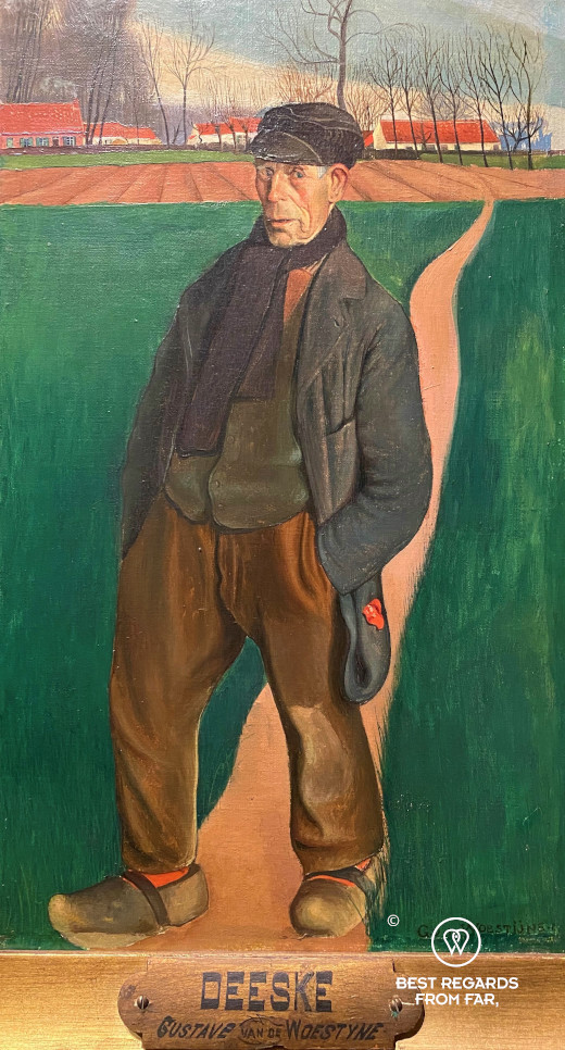 Deeske by Gustave van de Woestyne, Museum of Fine Arts, Ghent, Belgium