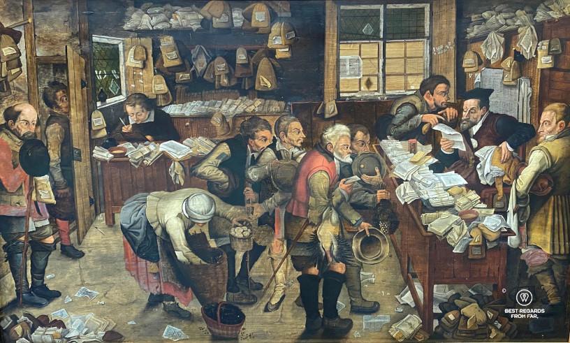 Village Lawyer by Brueghel, Museum of Fine Arts, Ghent, Belgium
