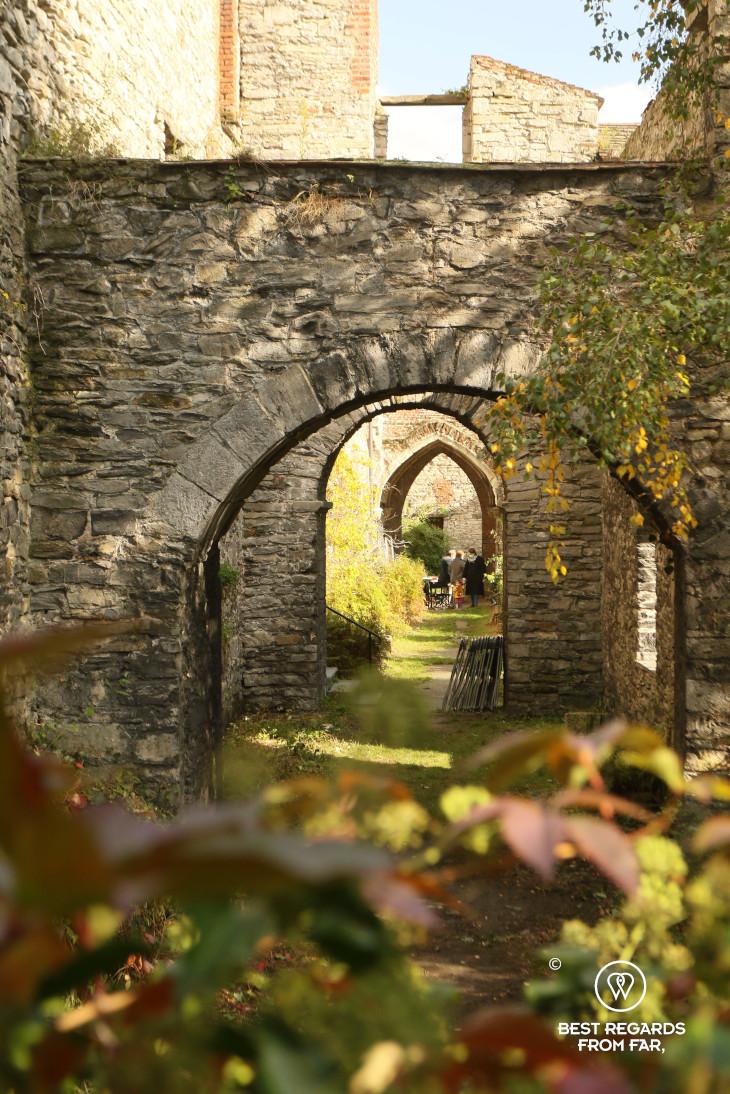 Saint Bavo Abbey Garden, Ghent, Belgium