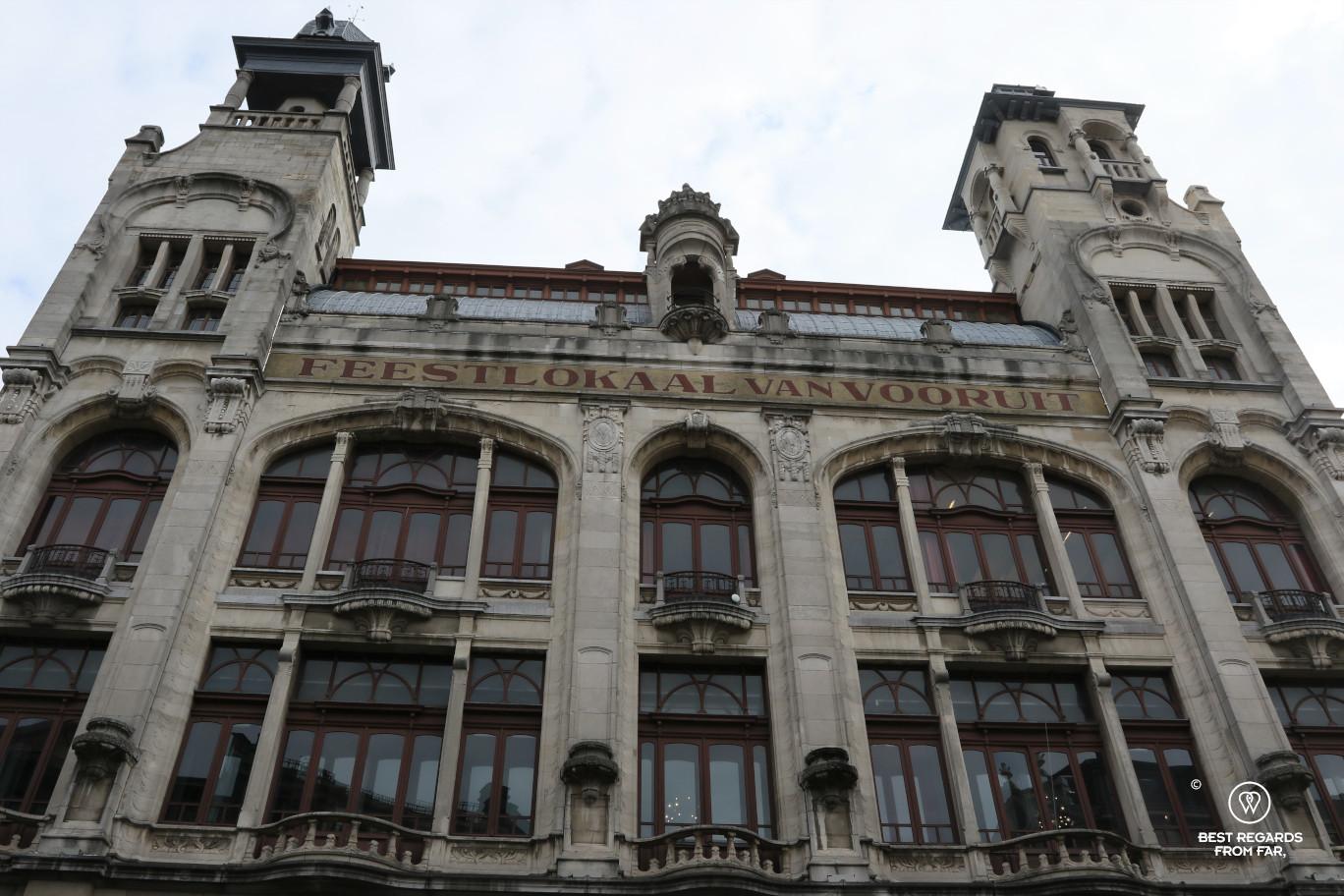 Architectural hightlight of Ghent, Belgium