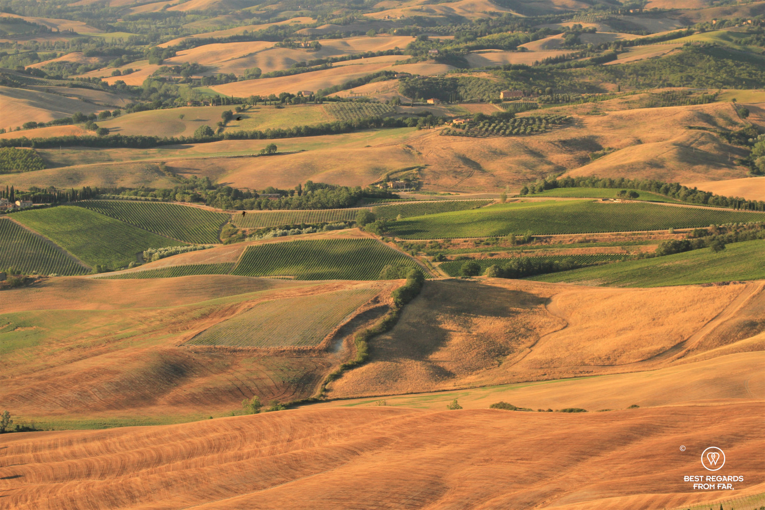 Typical Tuscan landscapes in Italy