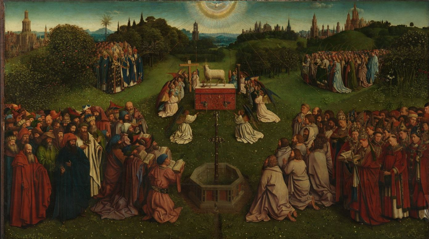 The Adoration of the Lamb by the Van Eycks