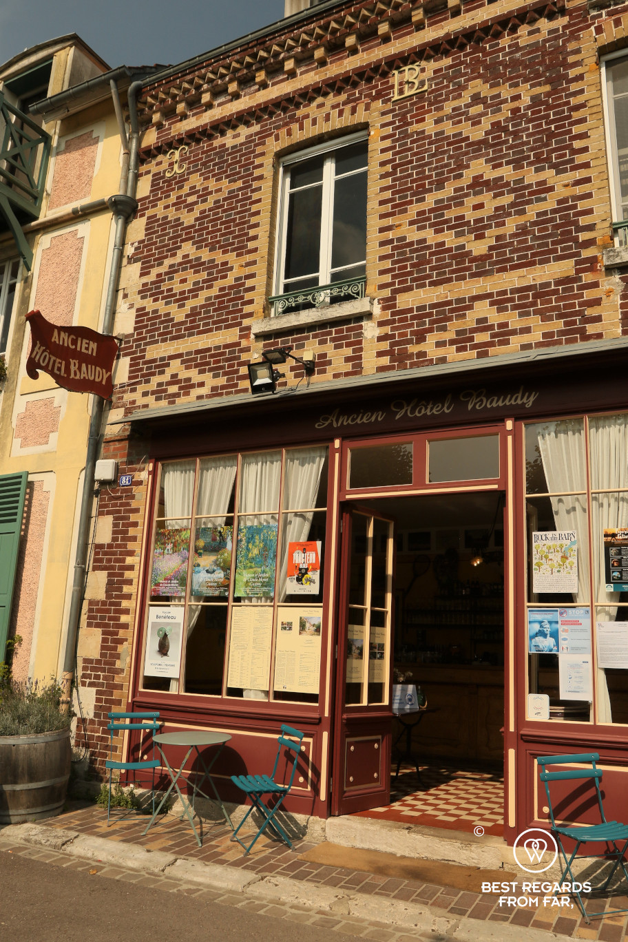 Ancien hôtel Baudy, Giverny, France
