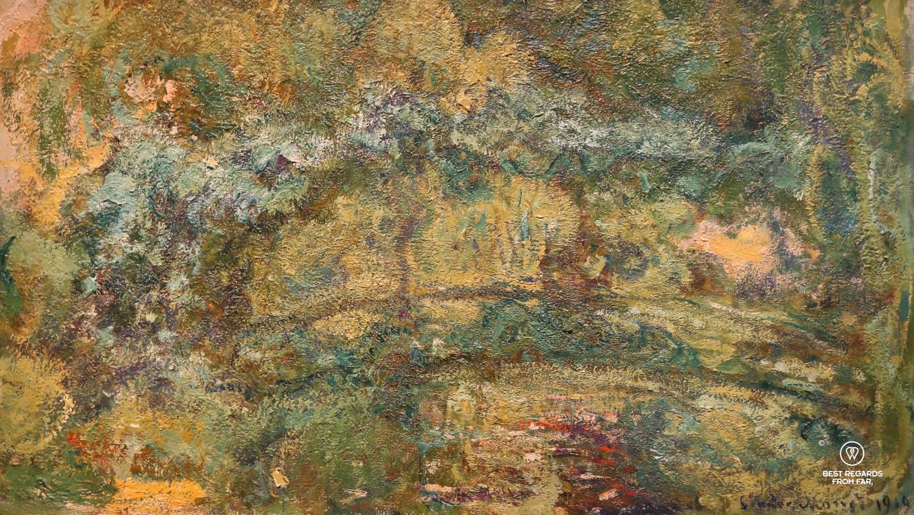 The Japanese bridge by Claude Monet, San Francisco De Young Museum