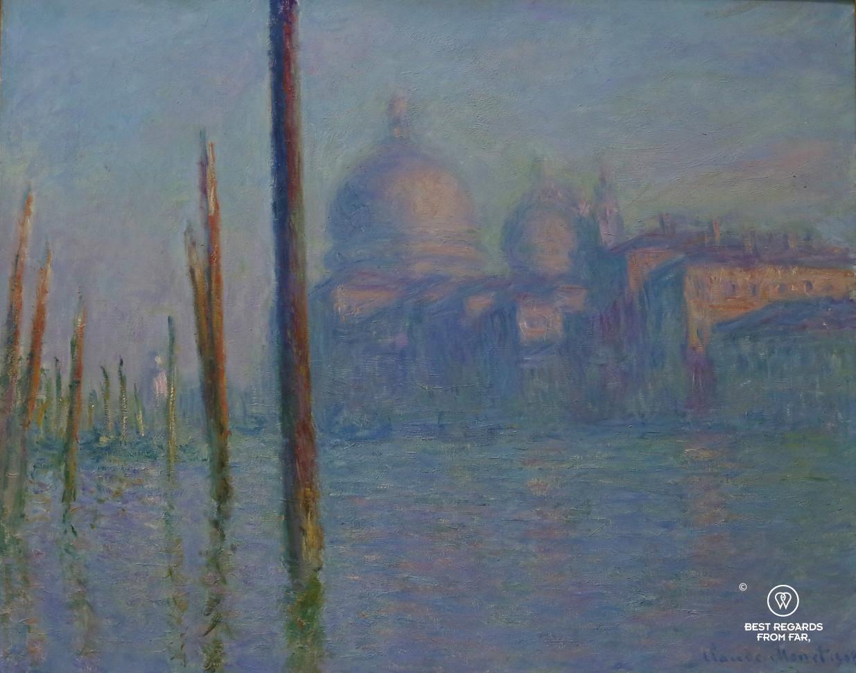The Grand Canal, Venice by Claude Monet, San Francisco De Young Museum