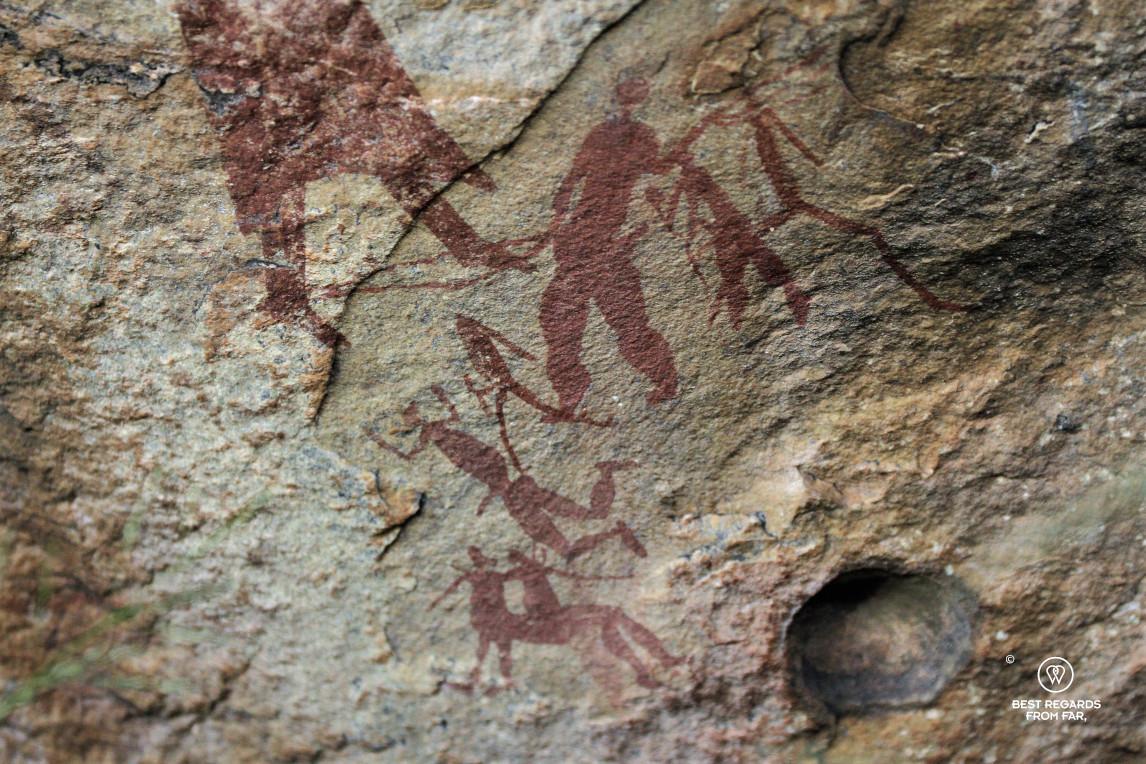 Bushmen rock art, Drakensberg, South Africa