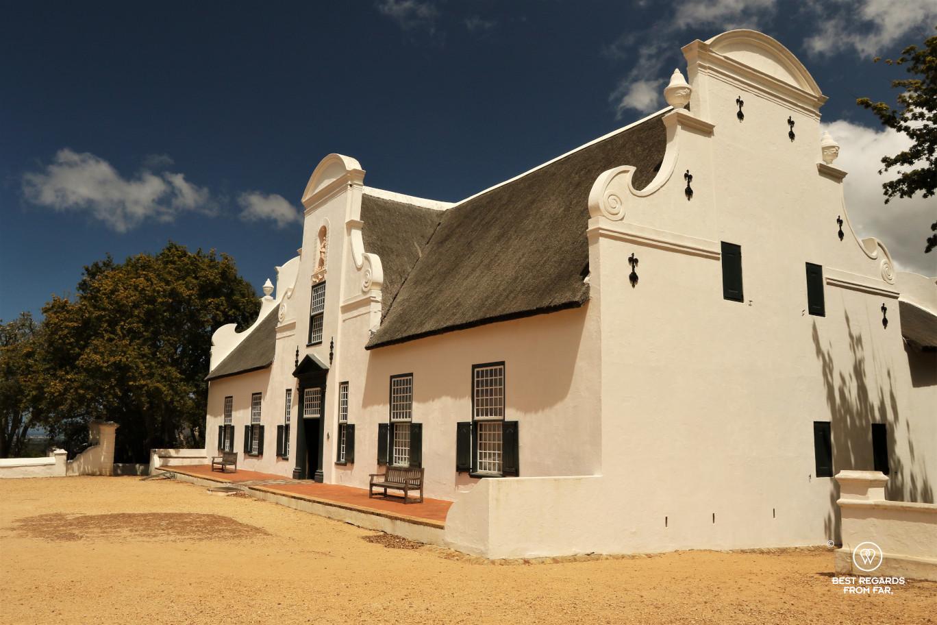 Groot Constantia wine domain with Cape Dutch manor, Constantia wine route, Cape Town