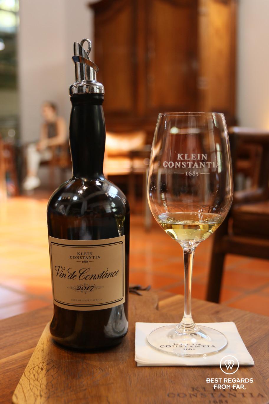 Vin de Constance wine tasting in Klein Constantia, Constantia wine route, Cape Town