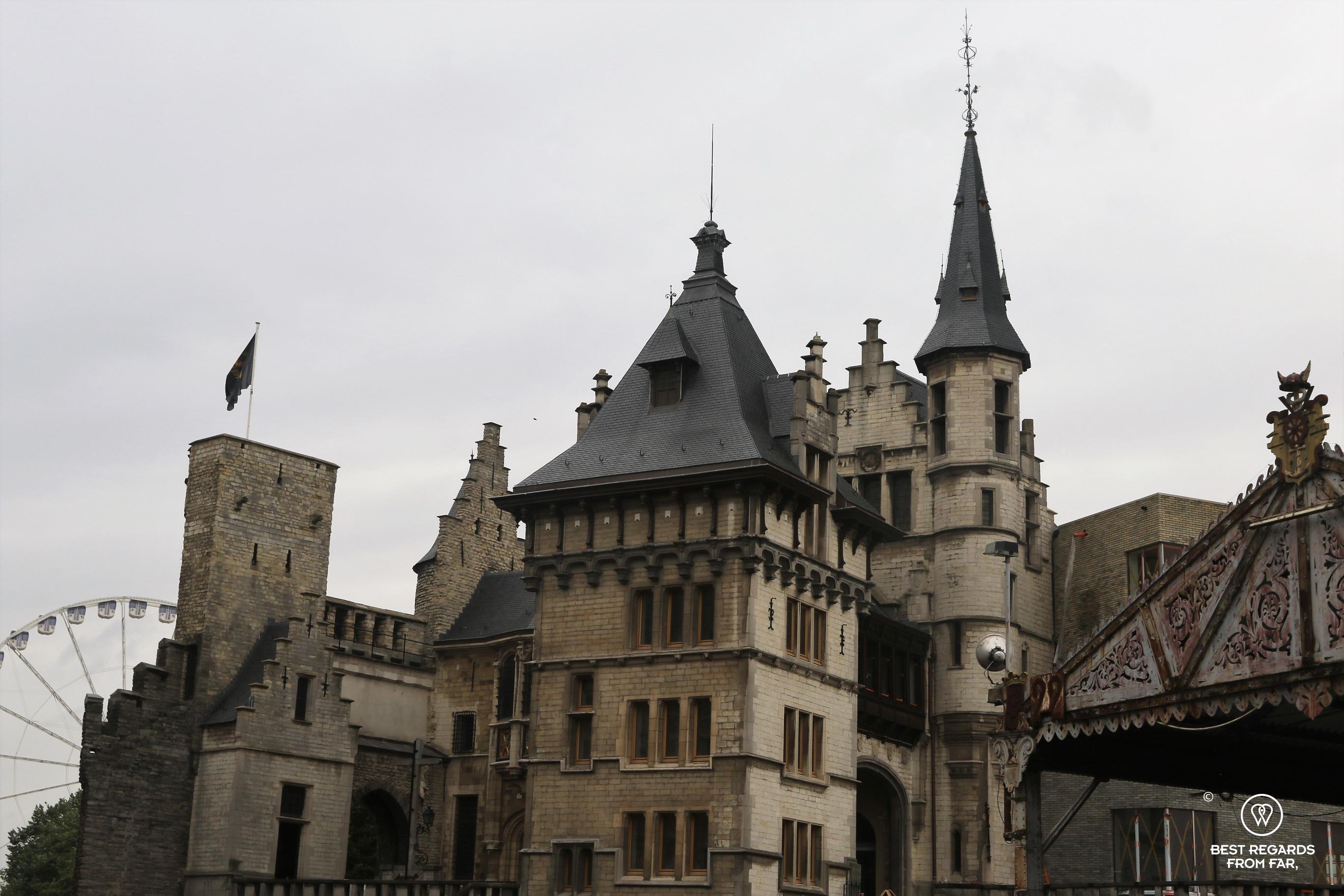 The medieval fortress of Het Steen, Antwerp, Belgium