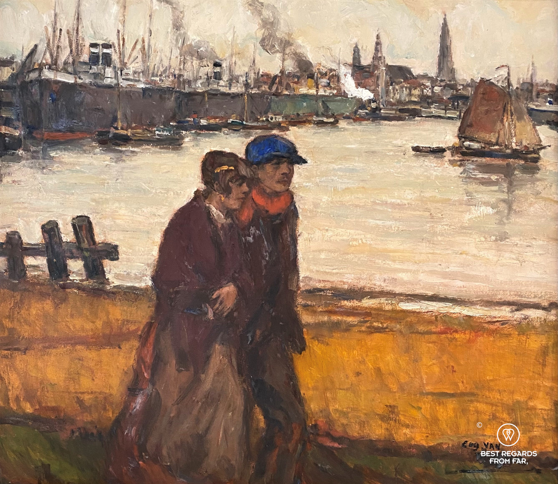 Along the Scheldt by Eugeen van Mieghem, Red Star Line Museum, Antwerp, Belgium