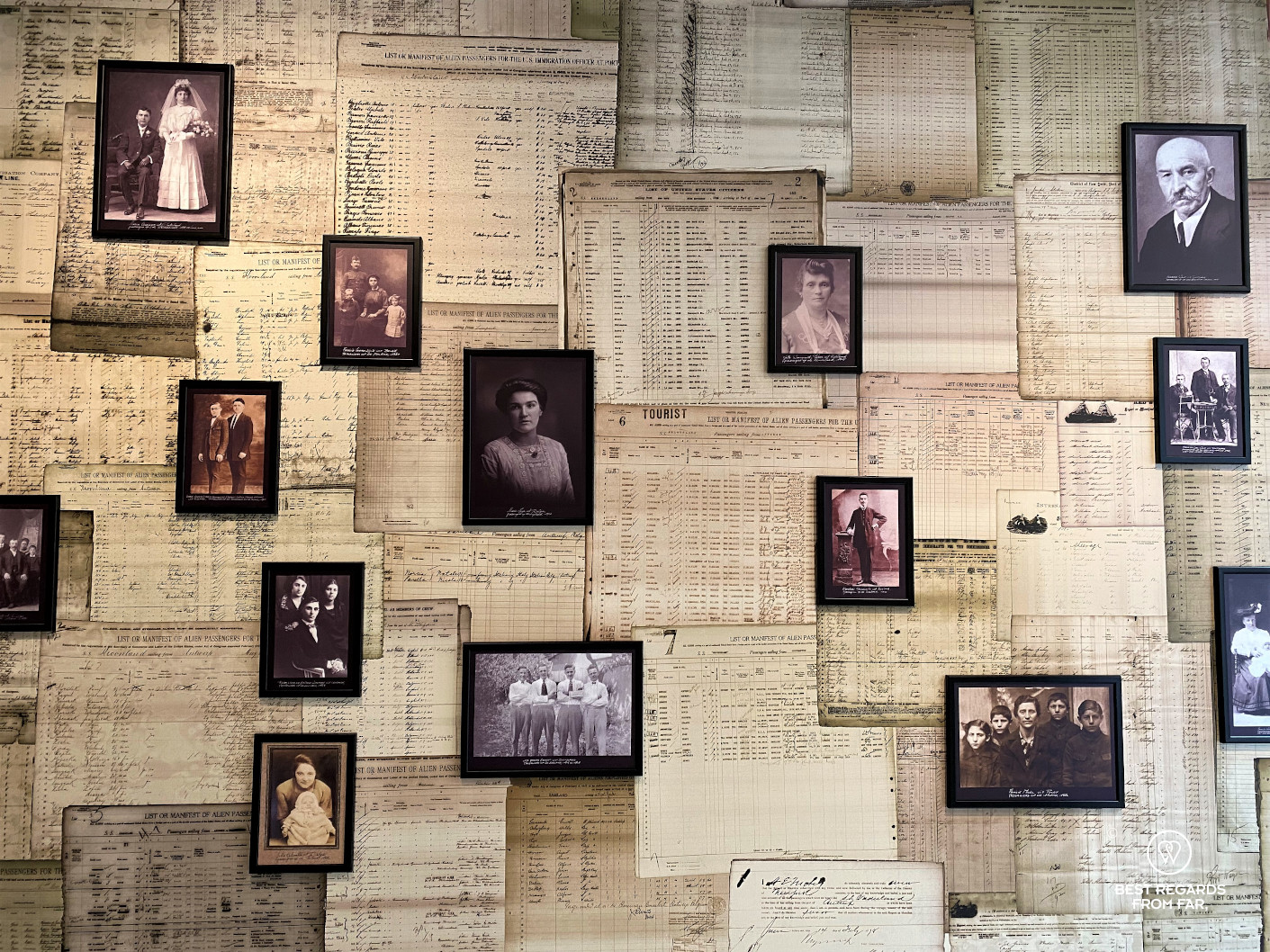 Lives of migrnats at the Red Star Line Museum, Antwerp, Belgium