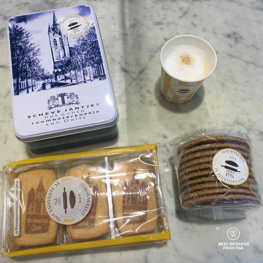 Diamanten Ring bakery's specialties, Delft, The Netherlands