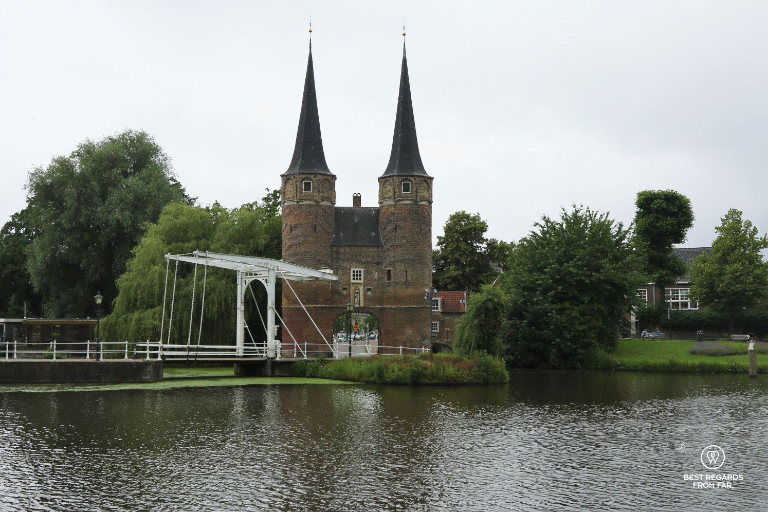 The East Gate of Delft, The Netherlands