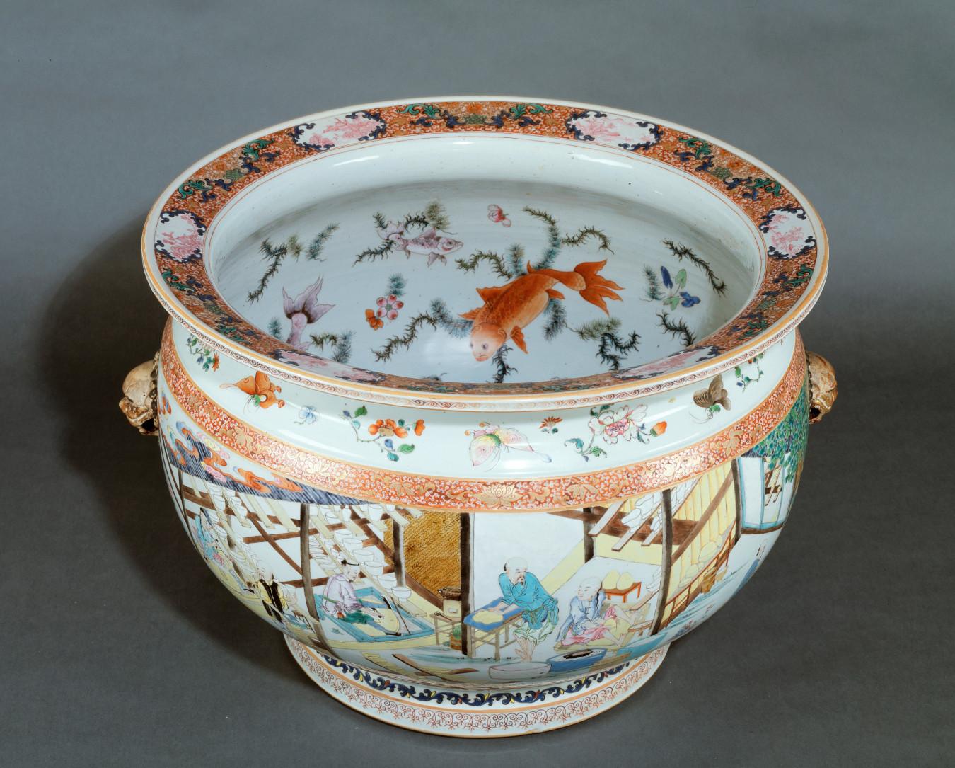 Fish bowl porcelain from Jingdezhen, China - credit: Kunstmuseum Den Haag