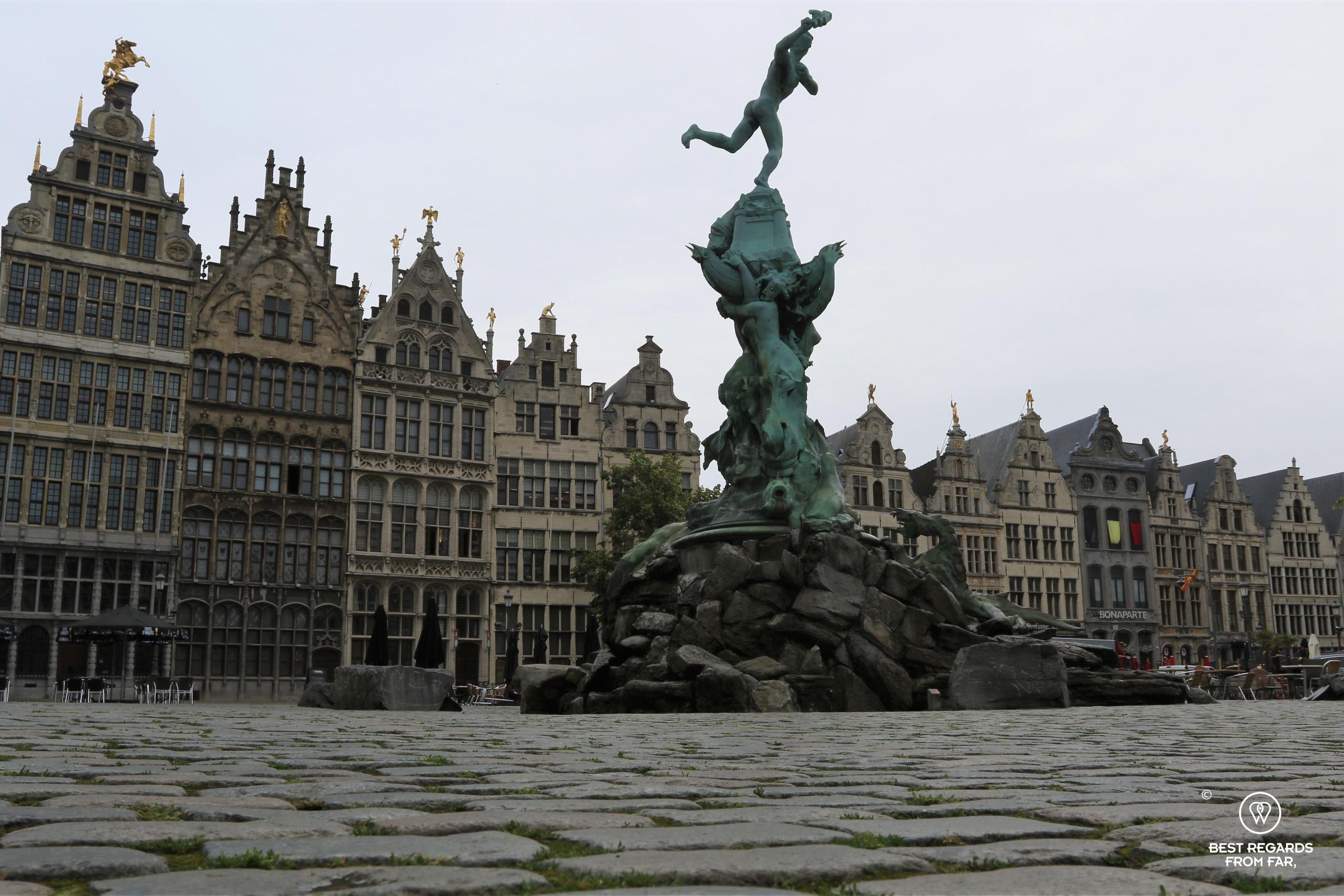 Barbo on the Grote Markt, Antwerp, Belgium