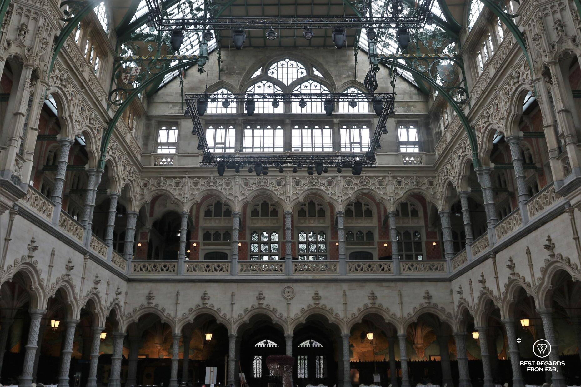 Art deco interior of the Handelsbeurs, Antwerp