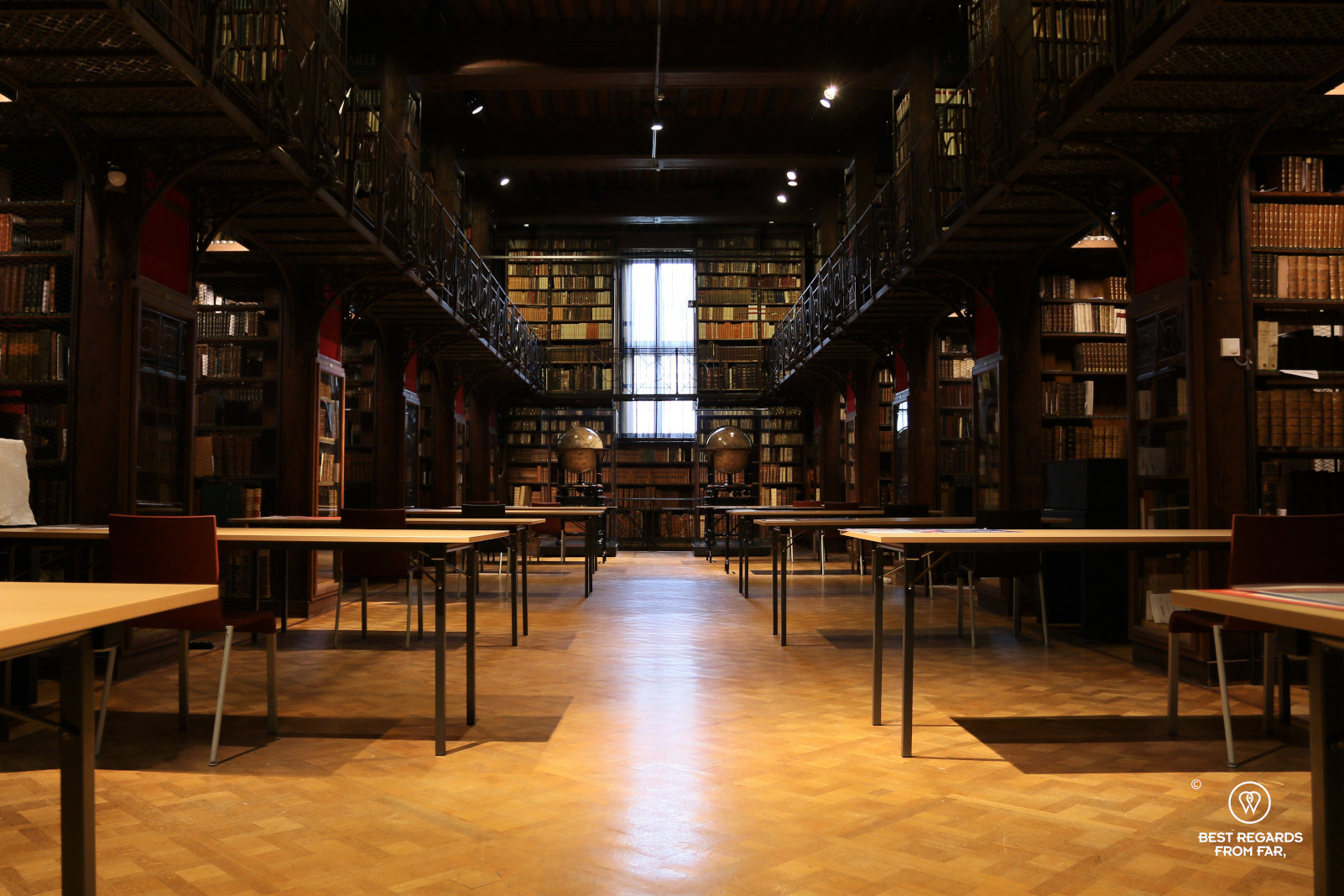 The Nottebohm room at the Hendrik Conscience Library, Antwerp, Belgium