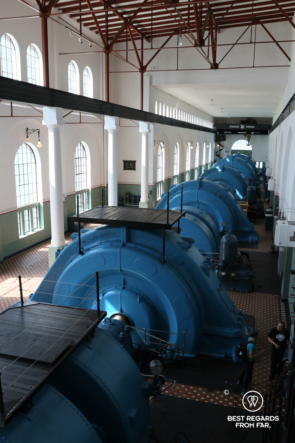 Generators at the Norwegian Museum of Hydropower and Industry, Tyssedal, Norway
