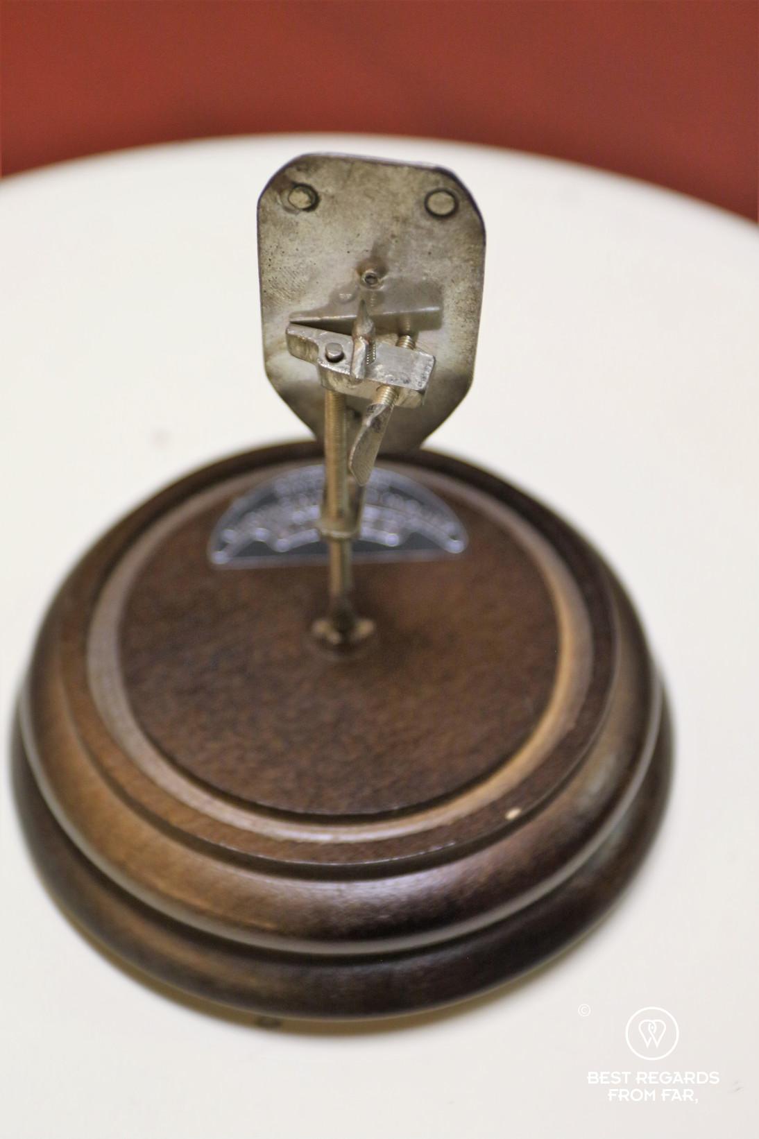 Microspope at Medisch farmaceutisch museum de griffioen, Delft, The Netherlands
