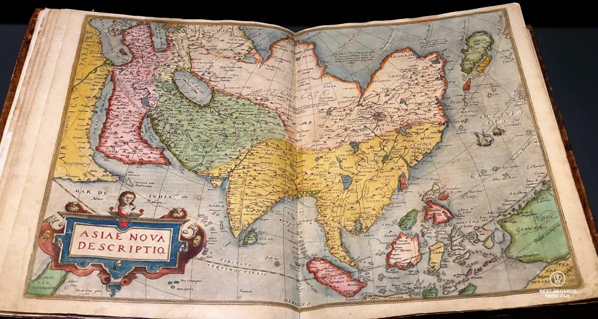 Abraham Ortelius Atlas at the Plantin Moretus Museum, Antwerp