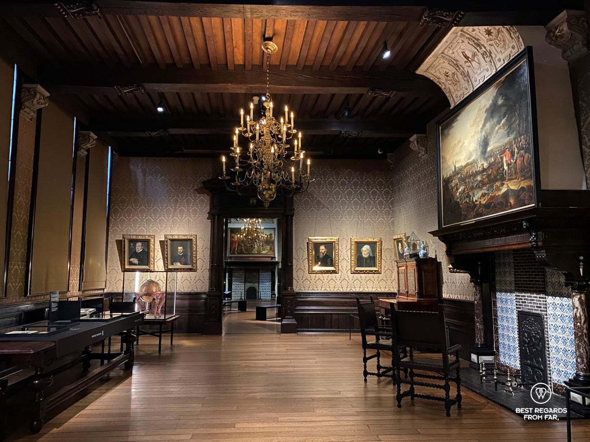 Room at the Plantin Moretus Museum, Antwerp