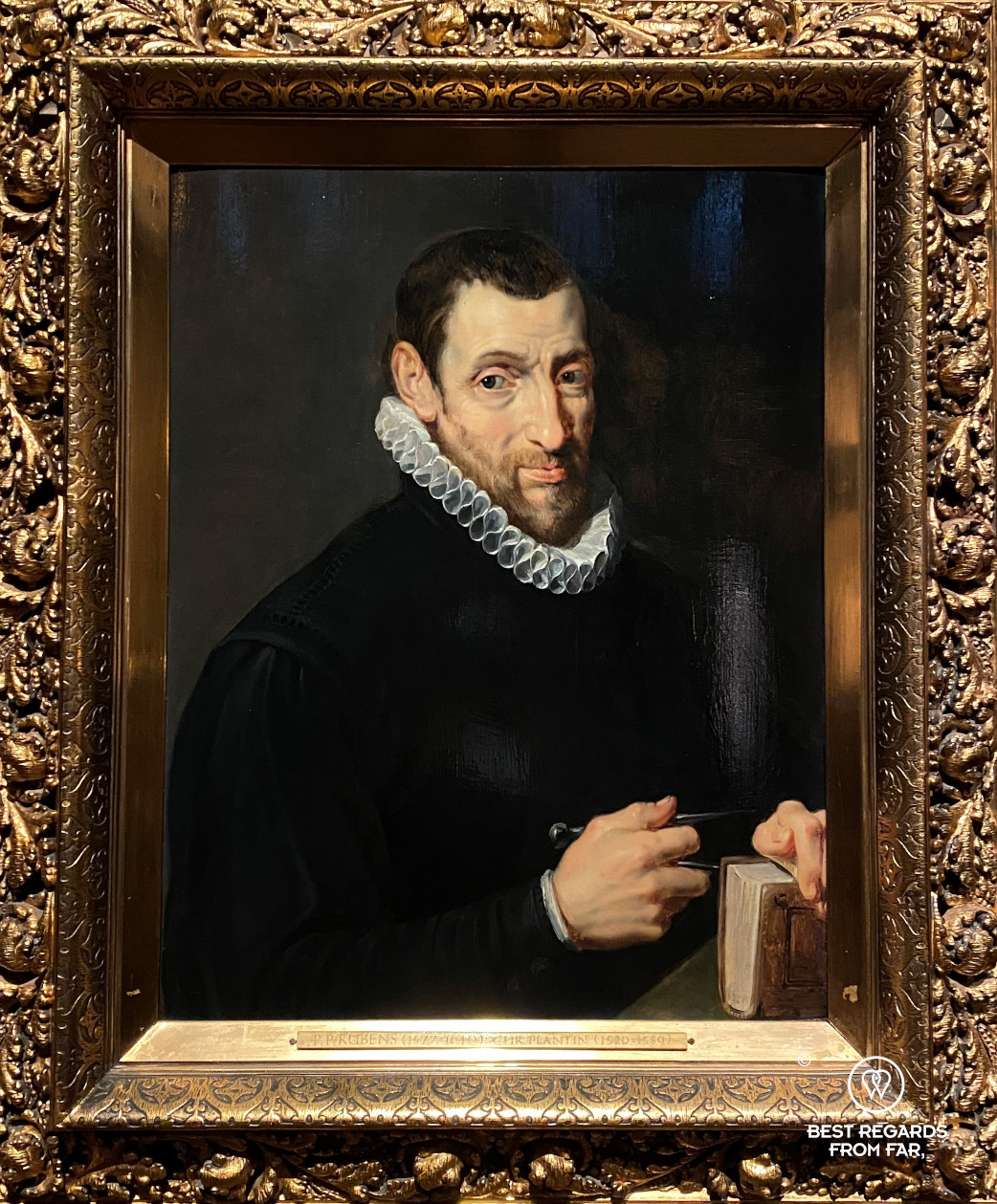 Christophe Plantin by Rubens, Plantin Moretus Museum, Antwerp