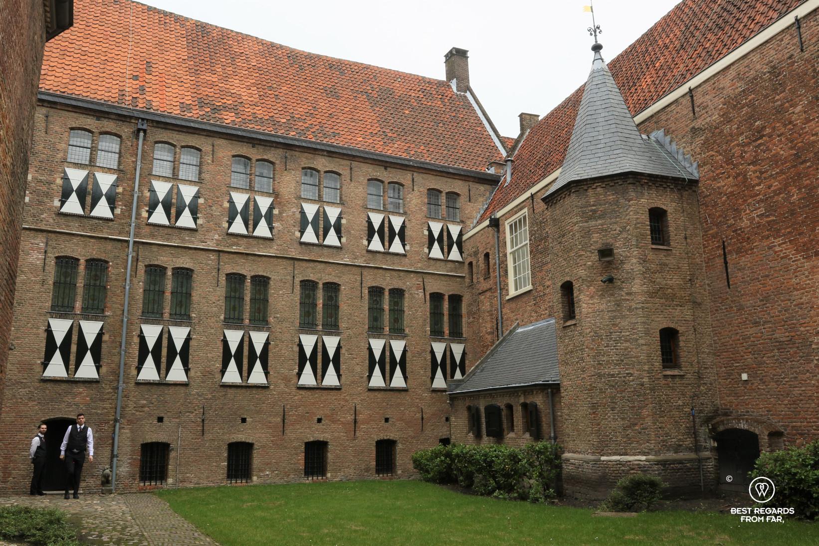 The prinsenhof, Delft