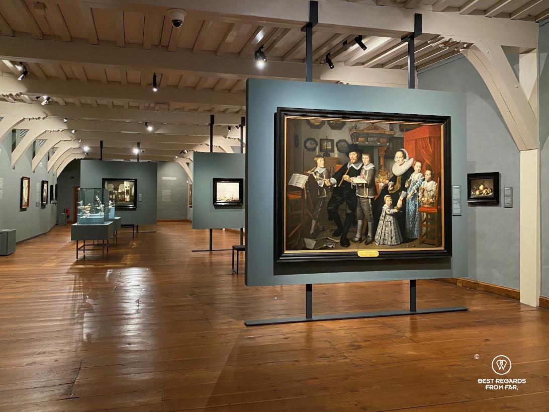 The museum of the prinsenhof, Delft
