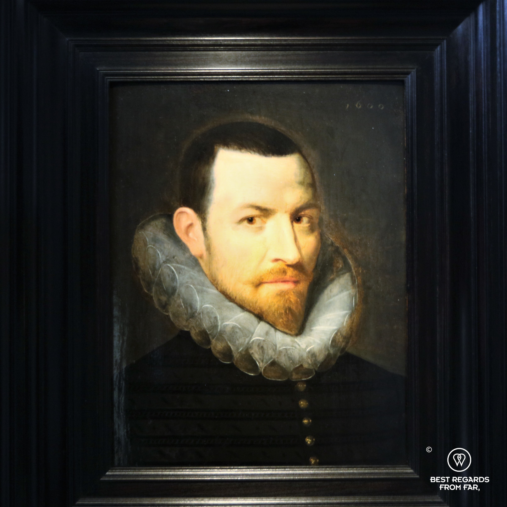 Nicolas Rockox (1600) by Rubens' master Otto van Veen, Rubens' House, Antwerp