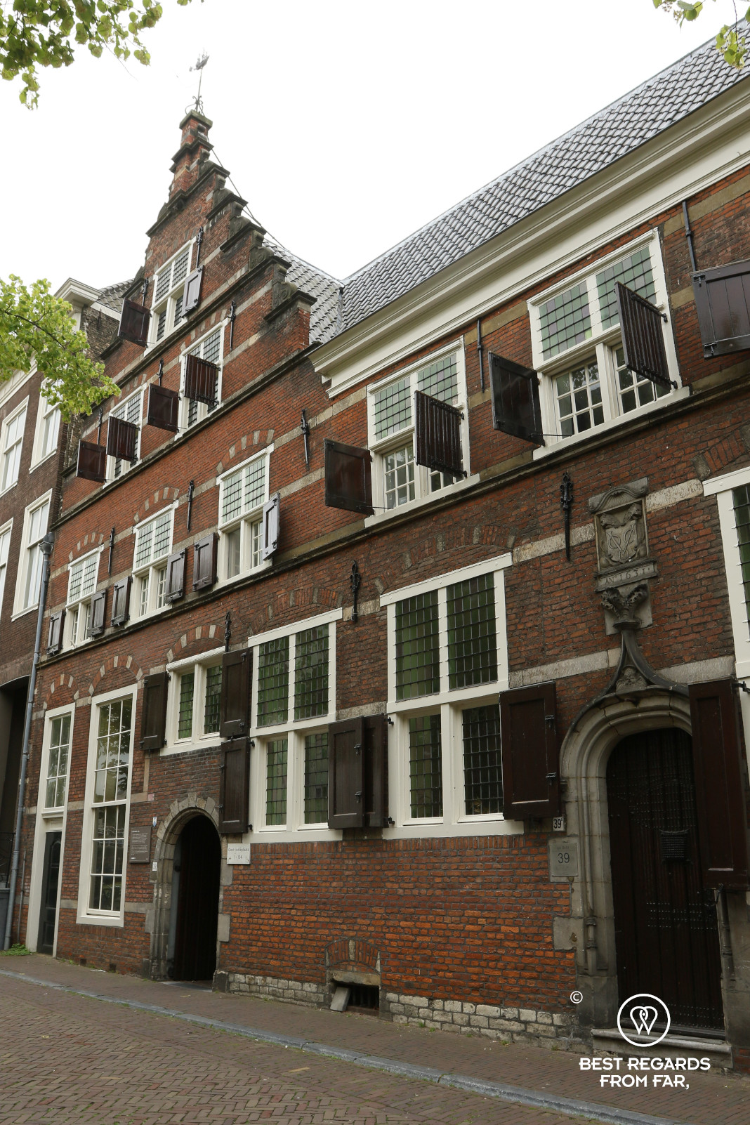 The Dutch East India Company house in Delft
