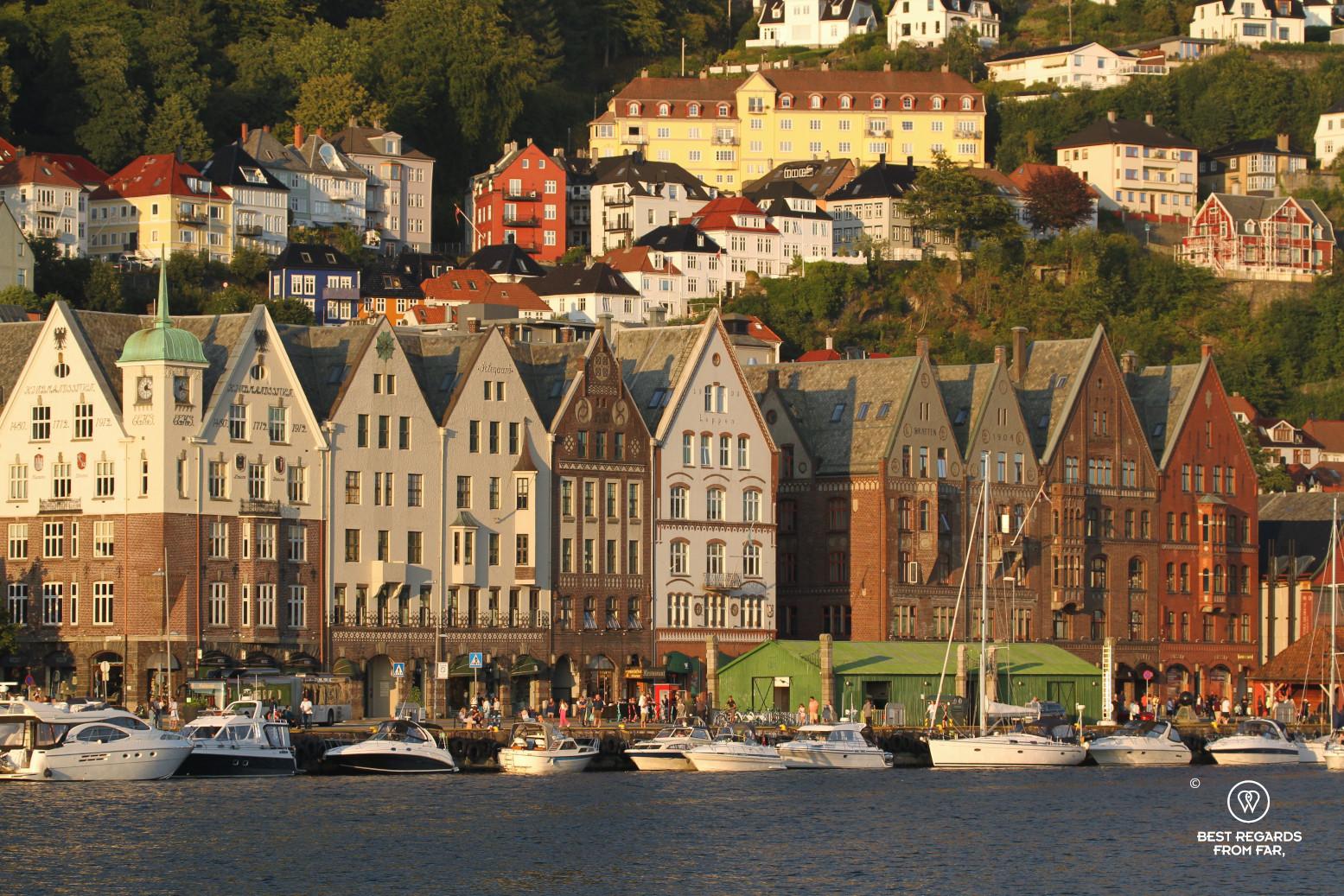 Stone warehouses of Bryggen, Bergen