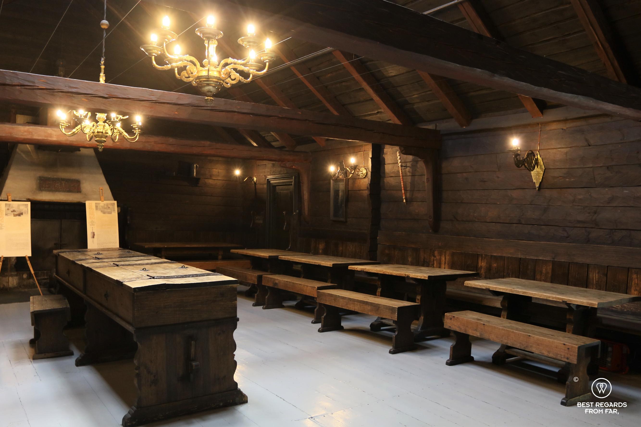 The Schotstuene hanseatic museum, Bryggen, Bergen