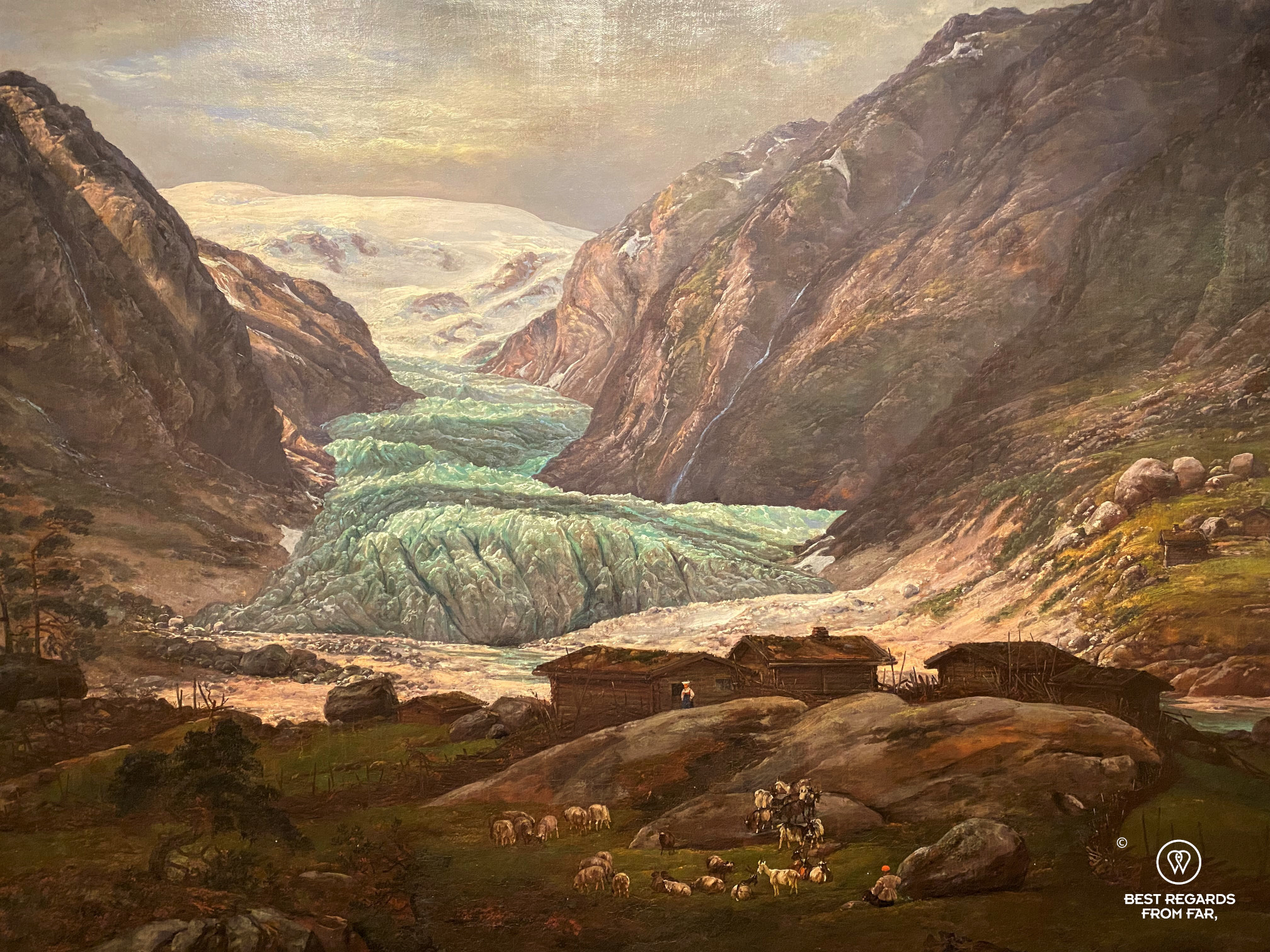 Nigard Glacier by Dahl, Kode 3 museum