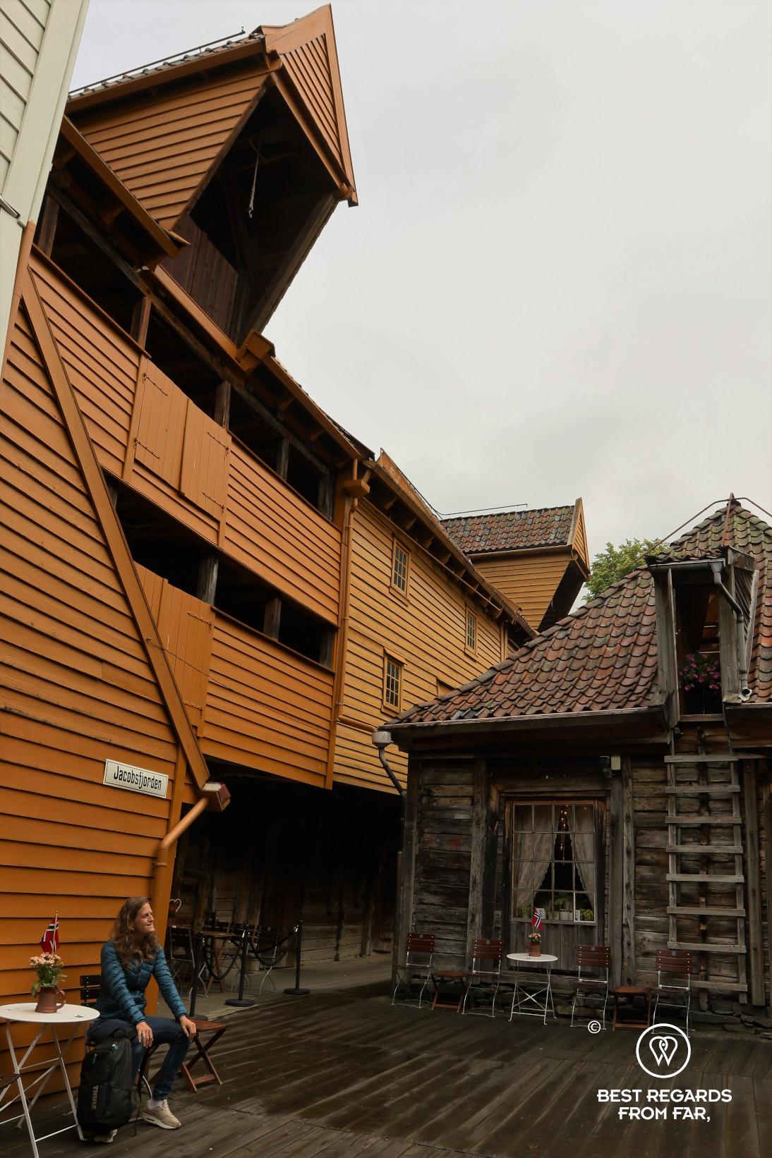 Medieval Bryggen, Bergen, Norway
