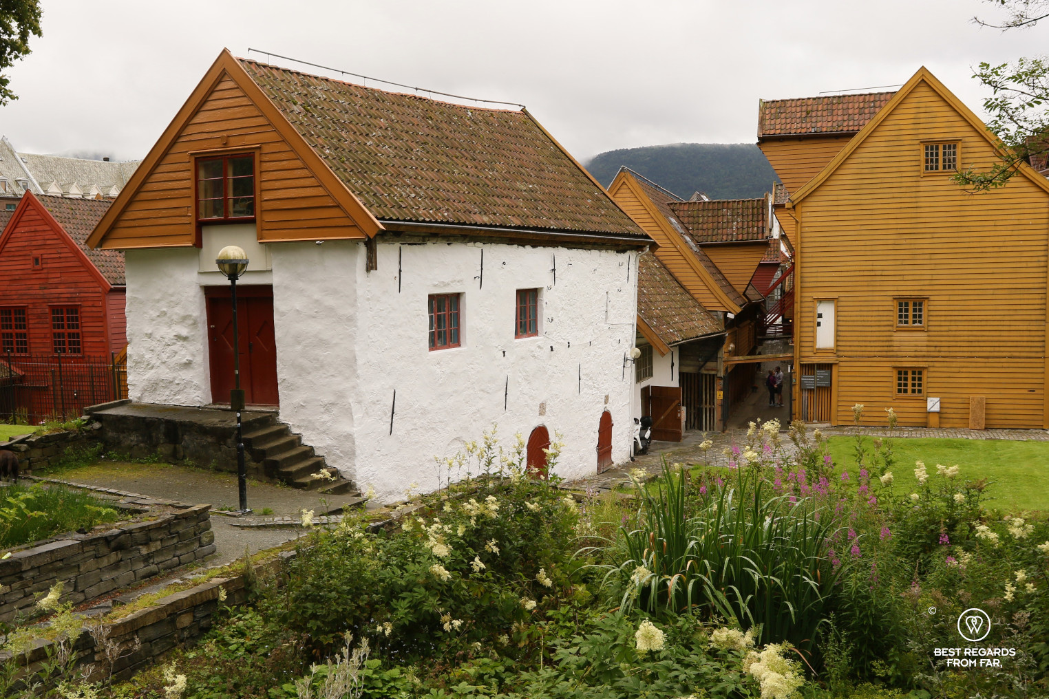 Bryggen's stone warehouse, Bergen