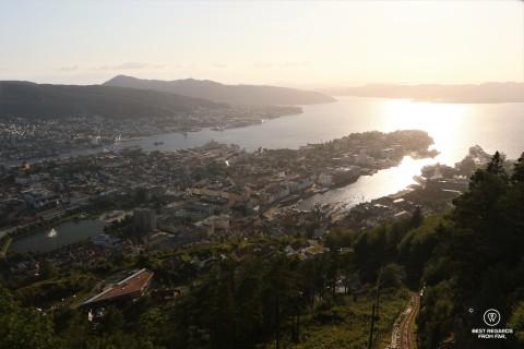 View from Floyen, Bergen