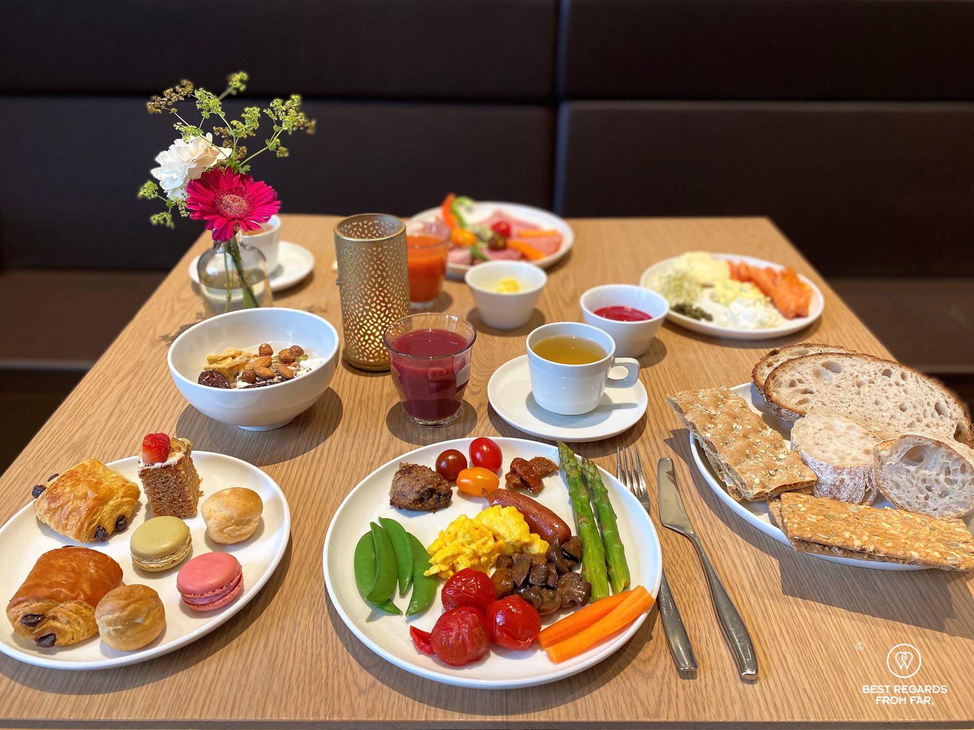 The breakfast of the hotel Bergen Bors, Bergen